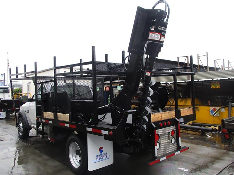 SPP12 Power Pole Truck