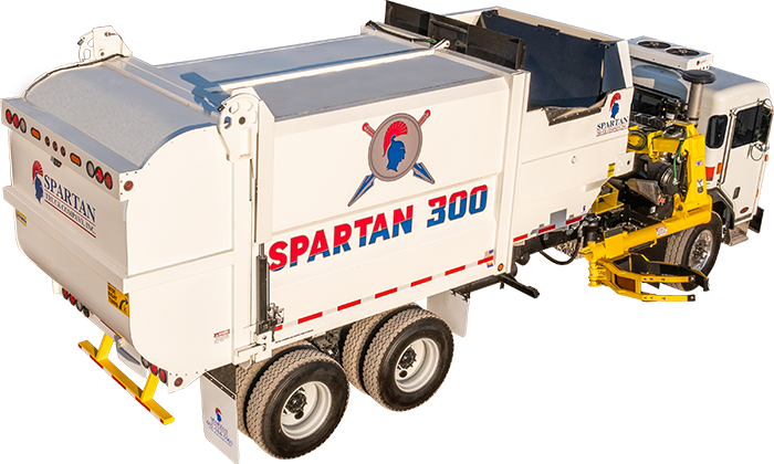 Spartan 300 Full Eject Automated Side Loader
